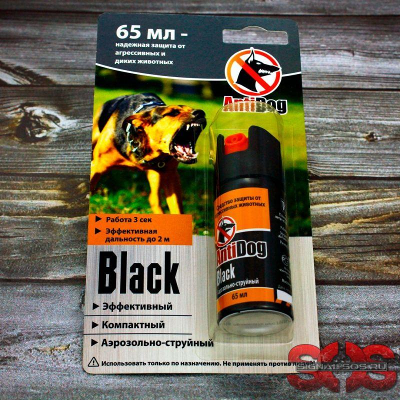 Распылитель «Antidog» Black серия 65 мл.