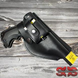 Кобура кожаная поясная для пистолета «ГРОМ» Тандер КД.111
