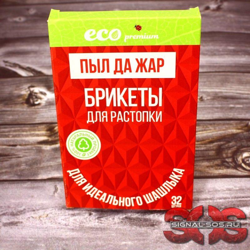 Брикеты для растопки (пачка 32 шт.) Eco Premium