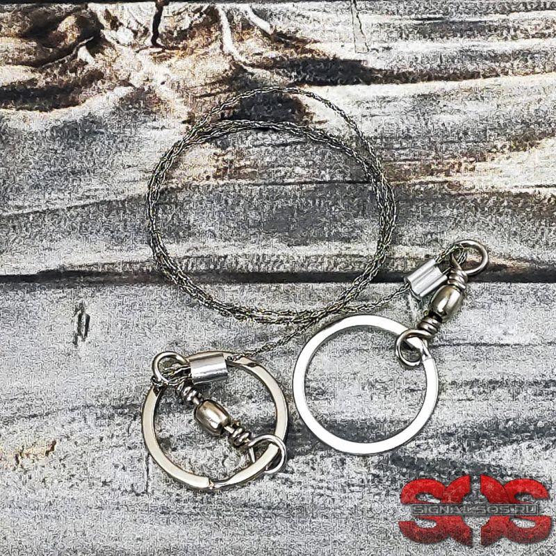 Проволочная стальная пила «Topvico» 70 см.