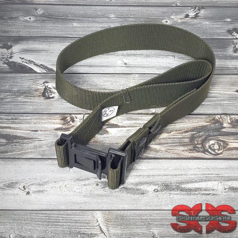 Ремень специальный из кордура с пряжкой «КОВАЧА» 50-55 мм. цвет хаки