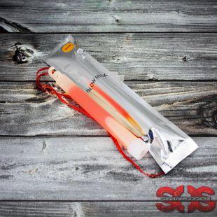 Светящиеся палочка «GLOW STICK» 15 см. оранжевый (ХИС) в фольге