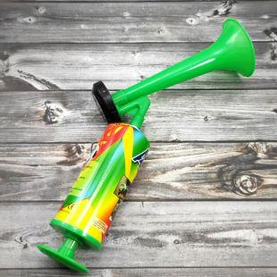 Воздушный горн «AIR HORN» с помпой зеленый