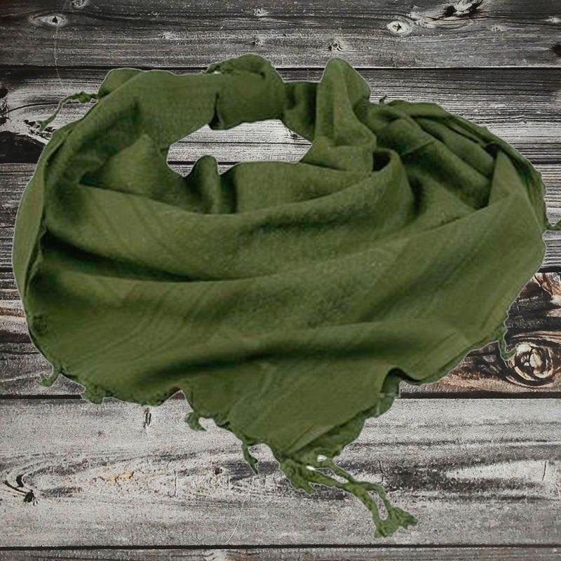 Арафатка моно зелёная 100% хлопок