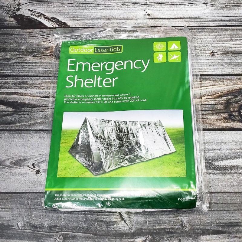 Изотермическая палатка Emergency Shelter 243х152 см.