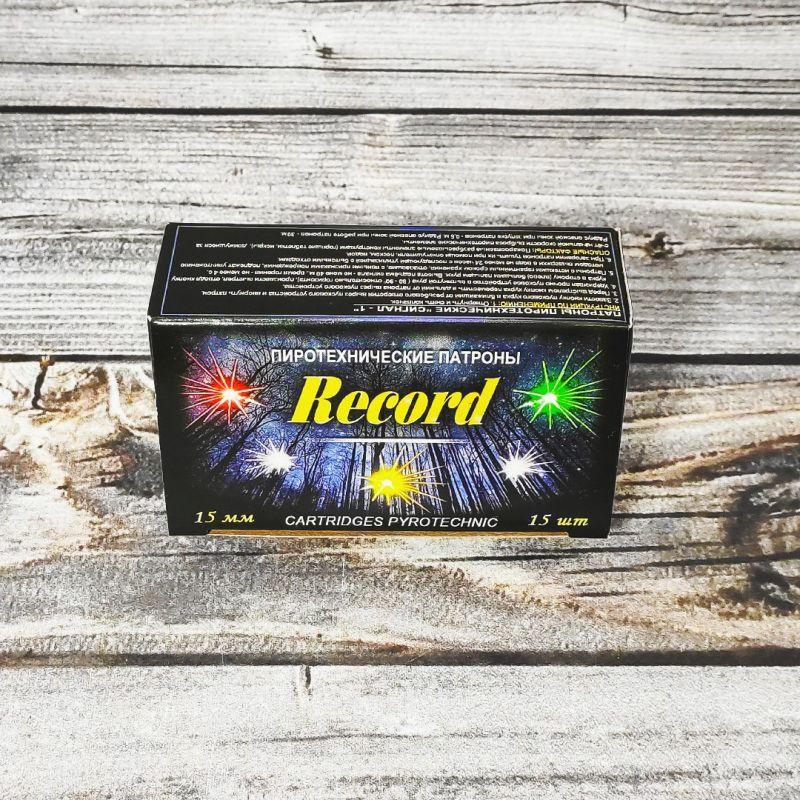 Сигнальный резьбовой патрон «RECORD» (металл)