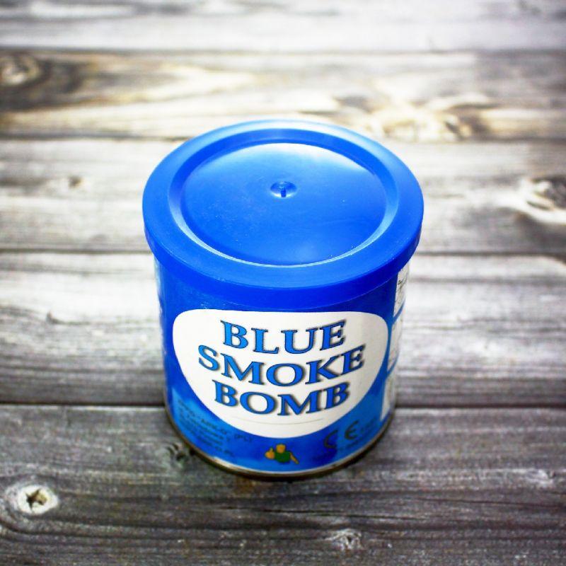 Цветной дым Smoke Bomb синий