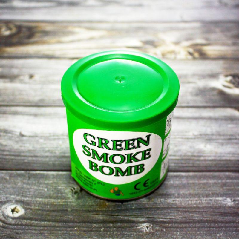 Цветной дым Smoke Bomb зеленый