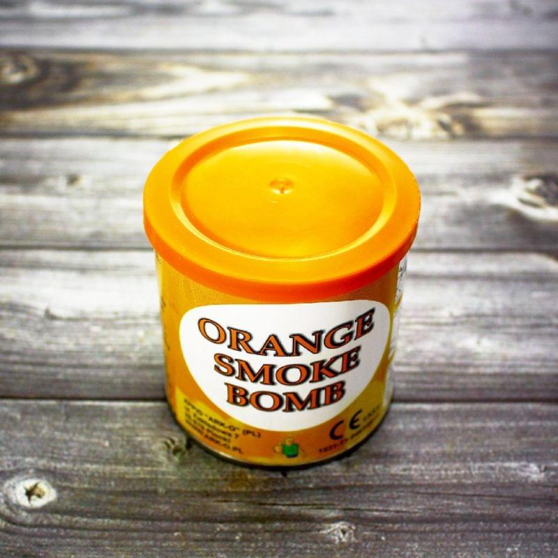 Цветной дым Smoke Bomb оранжевый
