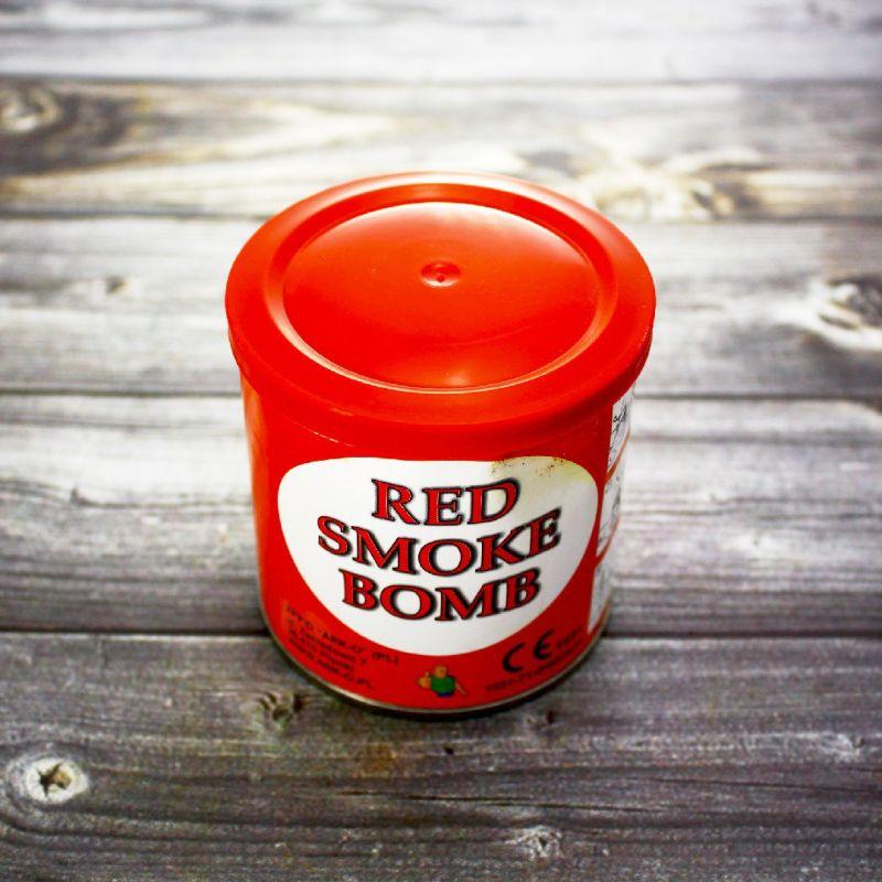 Цветной дым Smoke Bomb красный