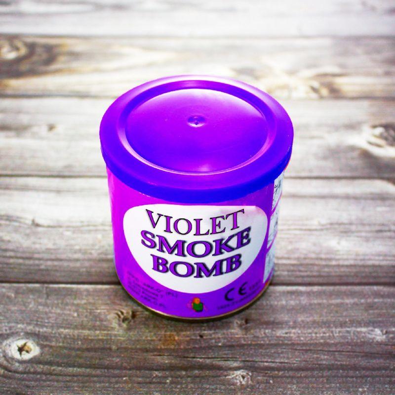 Цветной дым Smoke Bomb фиолетовый