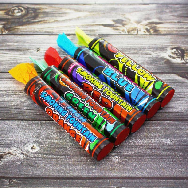 Цветной дым I inch Smoking fountain MIX набор из 5ти цветов