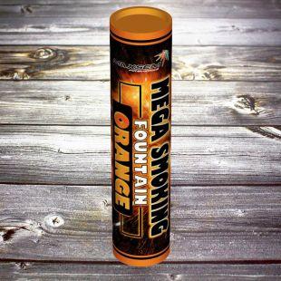 Двухсторонний Цветной дым «Mega Smoke Fountain» оранжевый