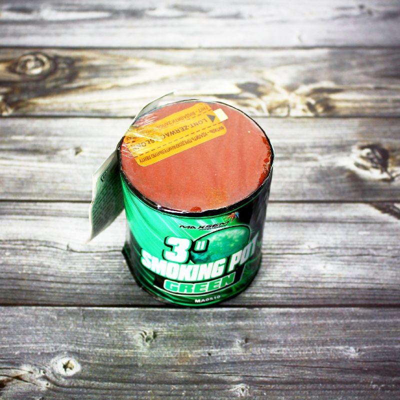 Цветной дым Smoke Pot зеленый