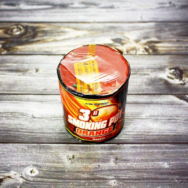 Цветной дым Smoke Pot оранжевый