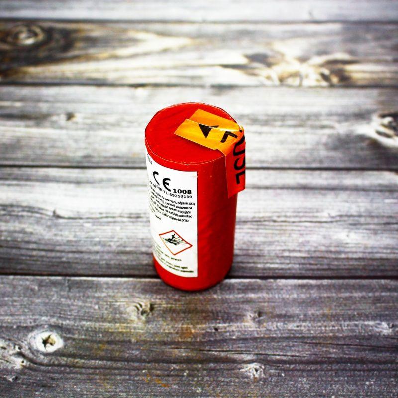 Цветной дым TFX 652-1 Triplex красный