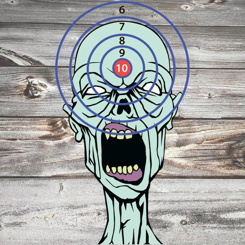 Мишень Зомби для пристрелки оружия