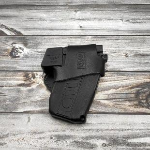Кобура поясная для пистолета «УДАР» из плотной кожи