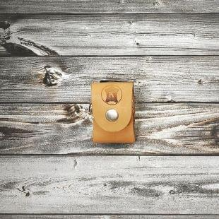 Подсумок-чехол коричневый для кассеты под устройства «ПРЕМЬЕР», «ПИОНЕР» и «ПУ-3»